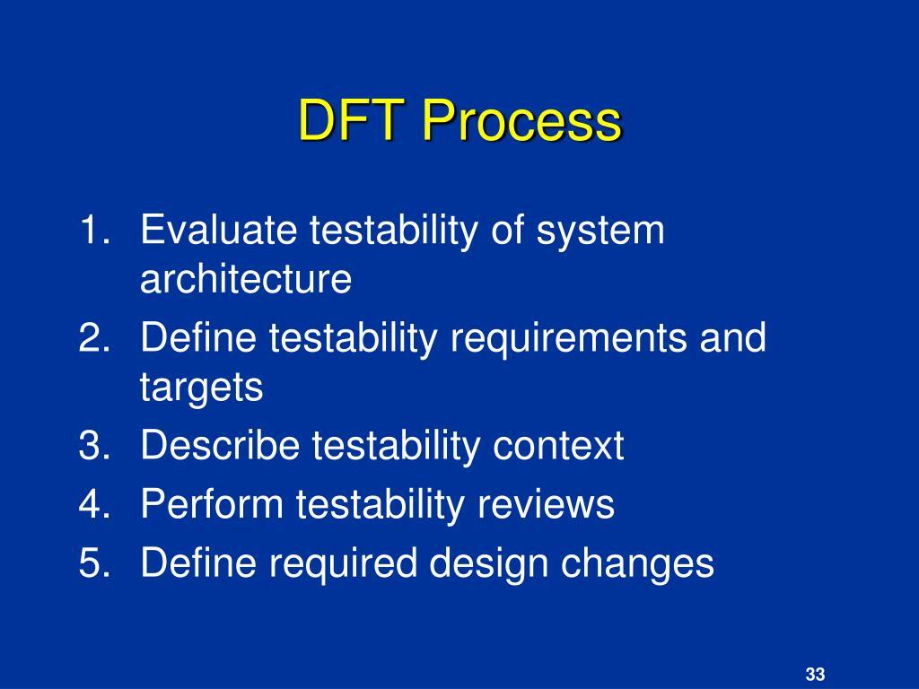 DFT Process