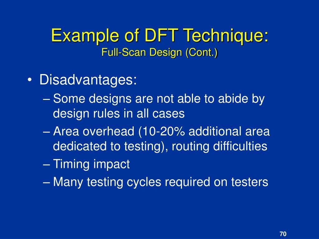 Example of DFT Technique: