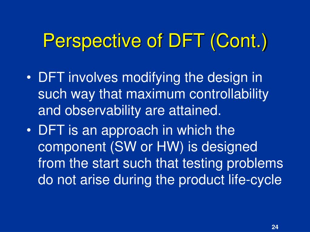 Perspective of DFT (Cont.)