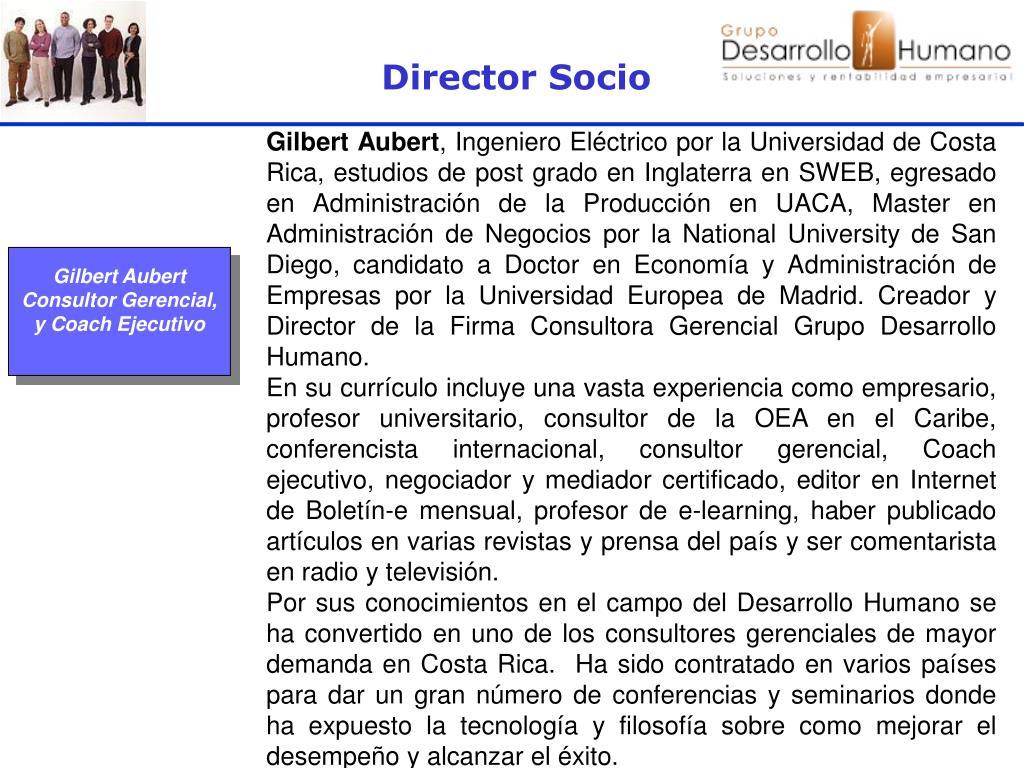 Director Socio