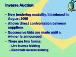 inverse auction