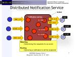 distributed notification service
