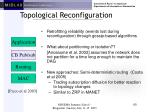 topological reconfiguration60