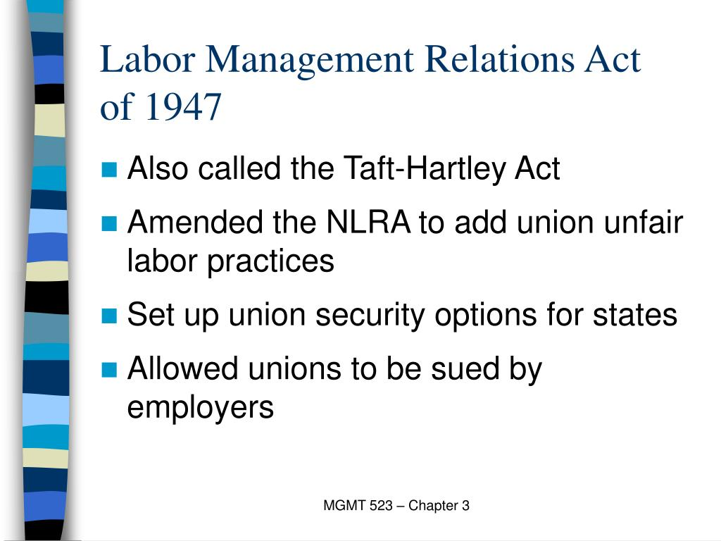 Labor Management Relations Act