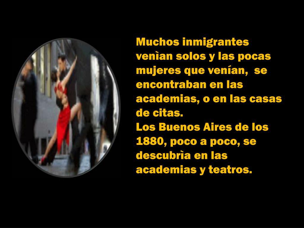 Muchos inmigrantes