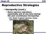 reproductive strategies18
