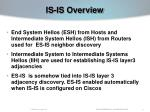 is is overview8