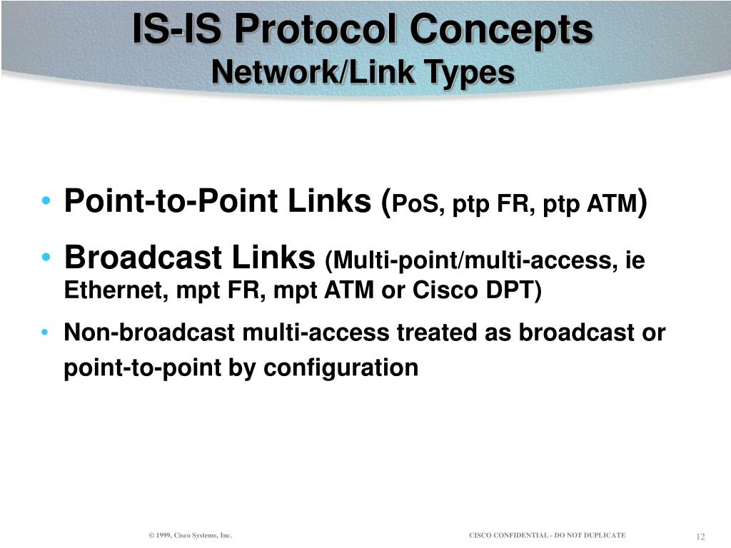 IS-IS Protocol Concepts