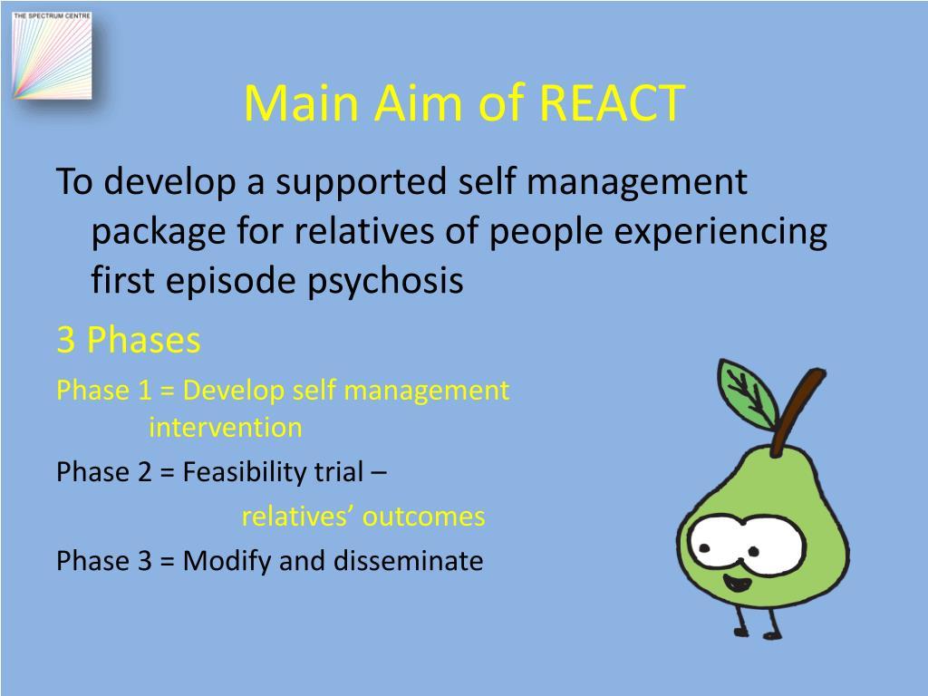 Main Aim of REACT
