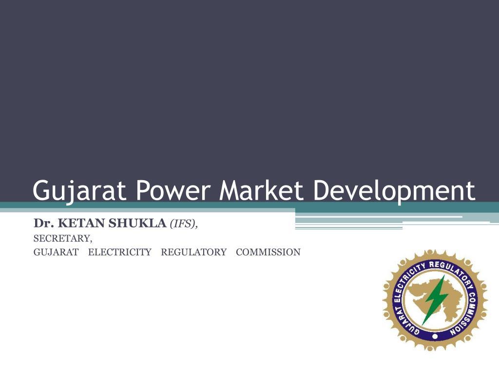 Gujarat Power Market Development