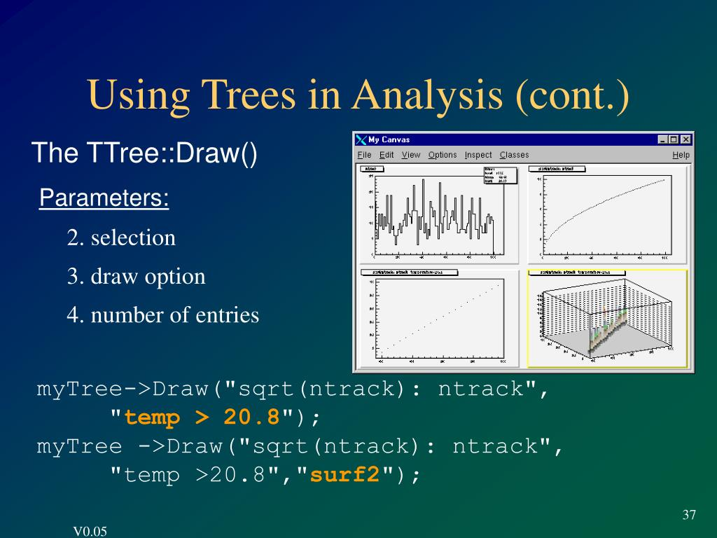 Using Trees in Analysis (cont.)