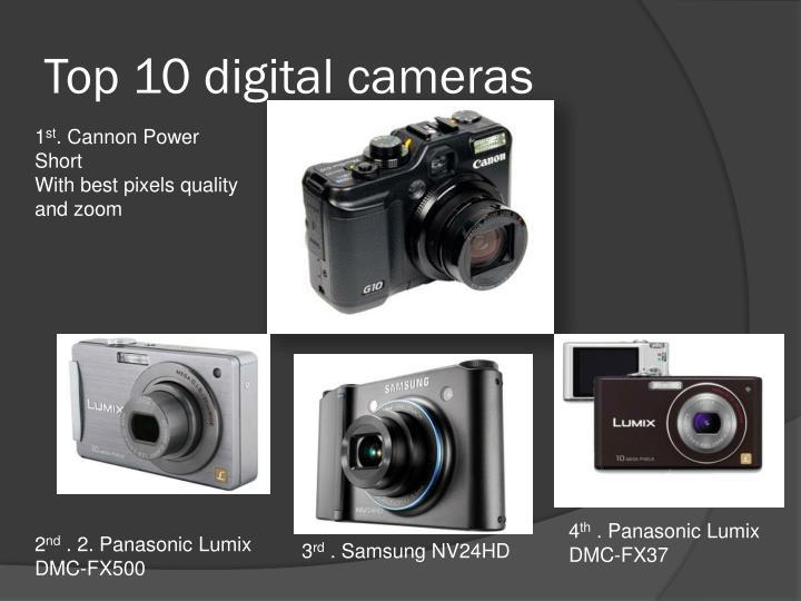 top 10 digital cameras n.