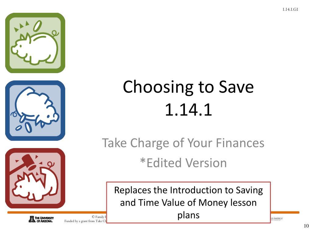 Choosing to Save