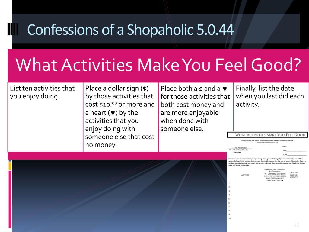 Confessions of a Shopaholic 5.0.44