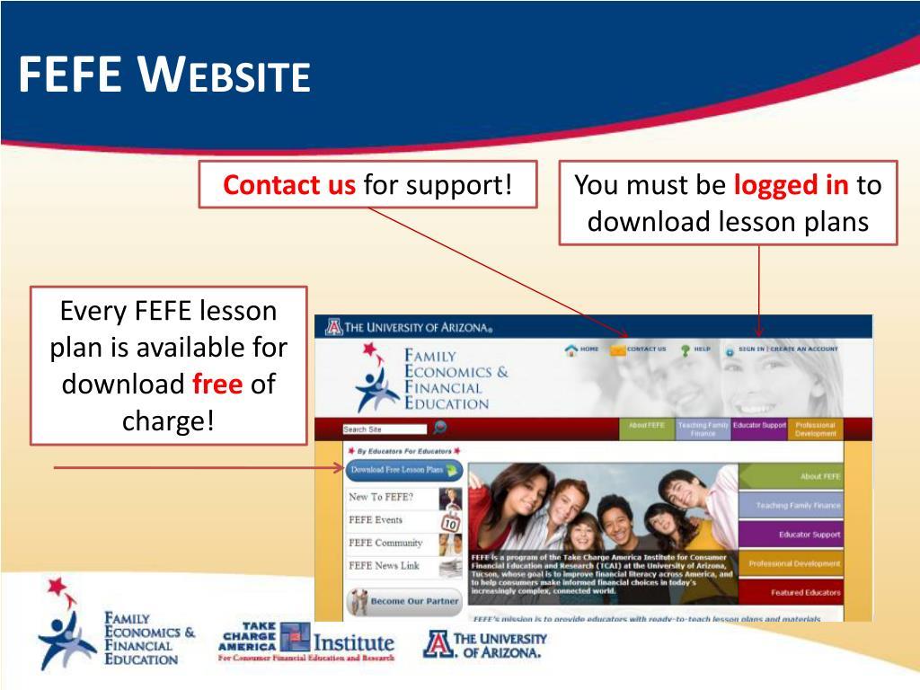 FEFE Website