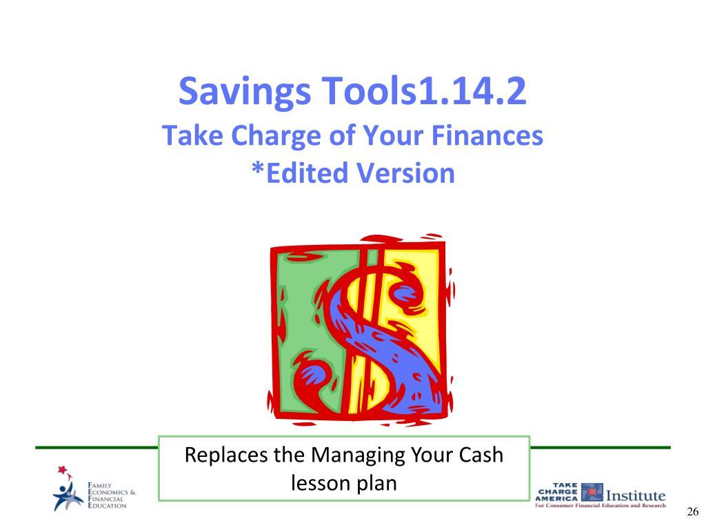 Savings Tools1.14.2