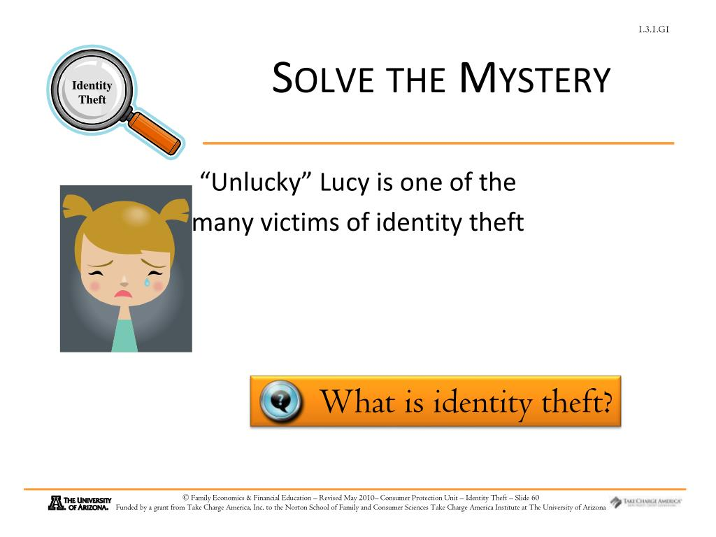 Solve the Mystery