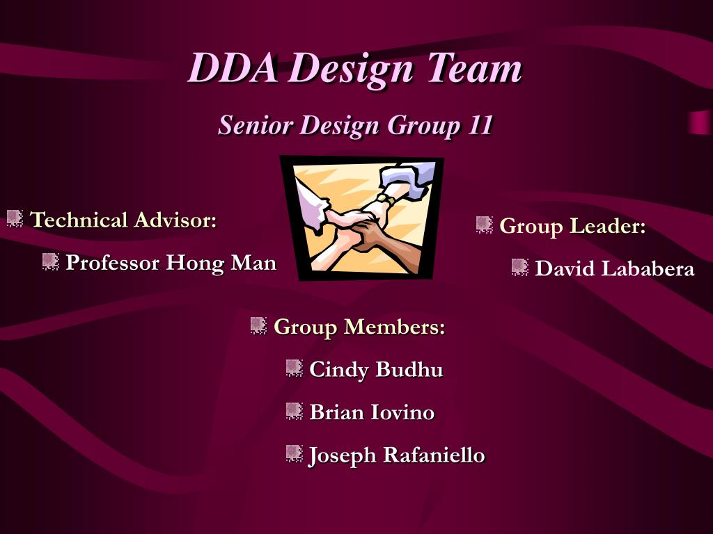 DDA Design Team