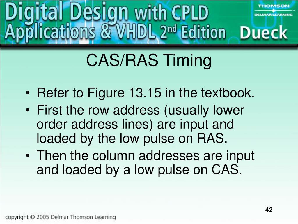 CAS/RAS Timing