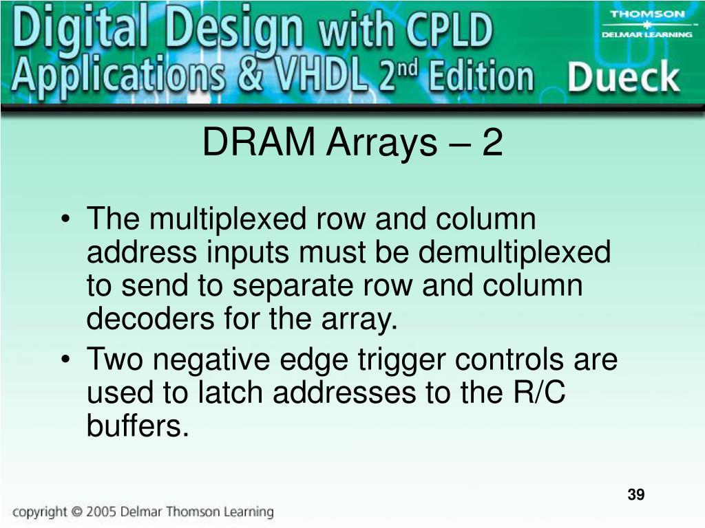 DRAM Arrays
