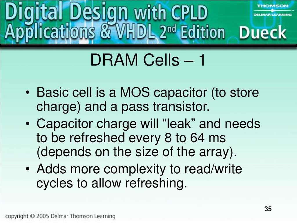 DRAM Cells