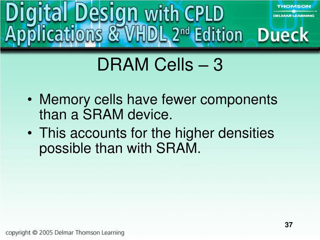 DRAM Cells – 3