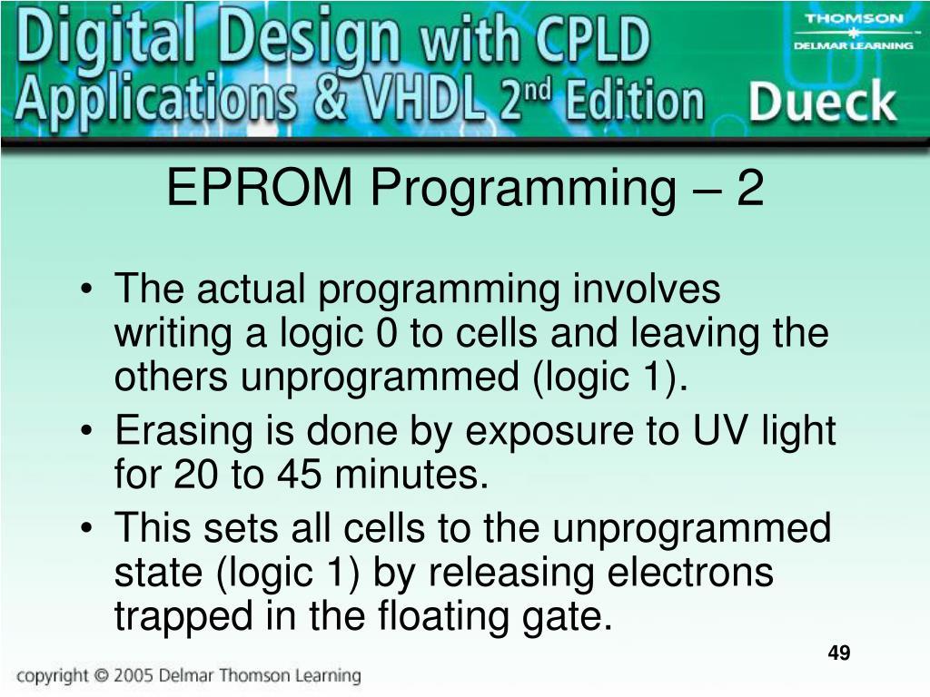 EPROM Programming