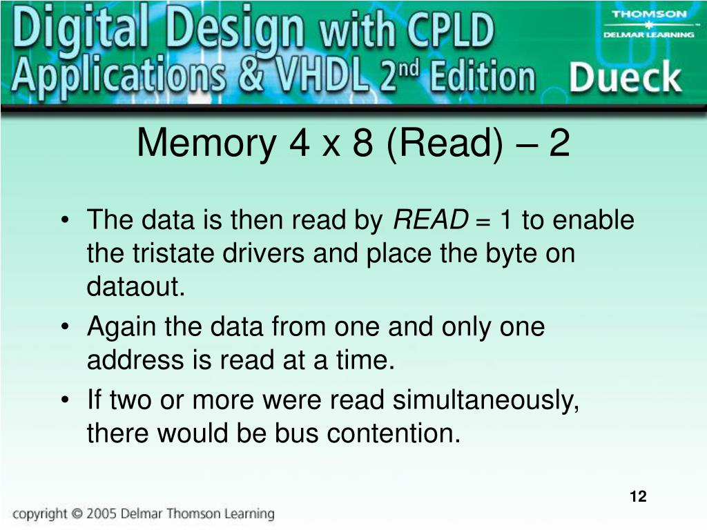 Memory 4 x 8 (Read)