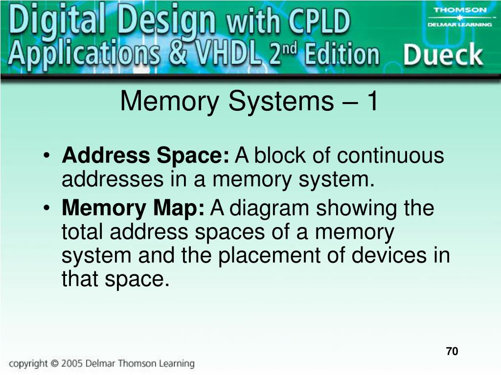 Memory Systems – 1