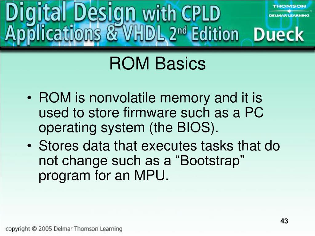 ROM Basics