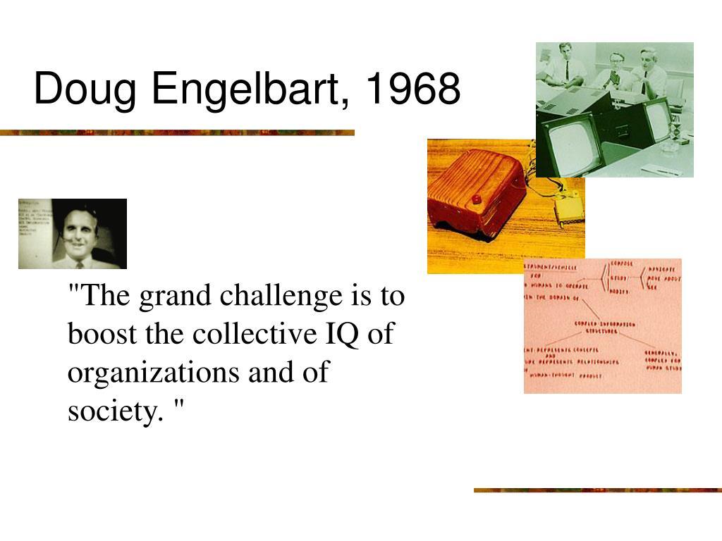 Doug Engelbart, 1968