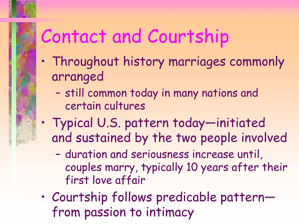 Throughout history marriages commonly arranged