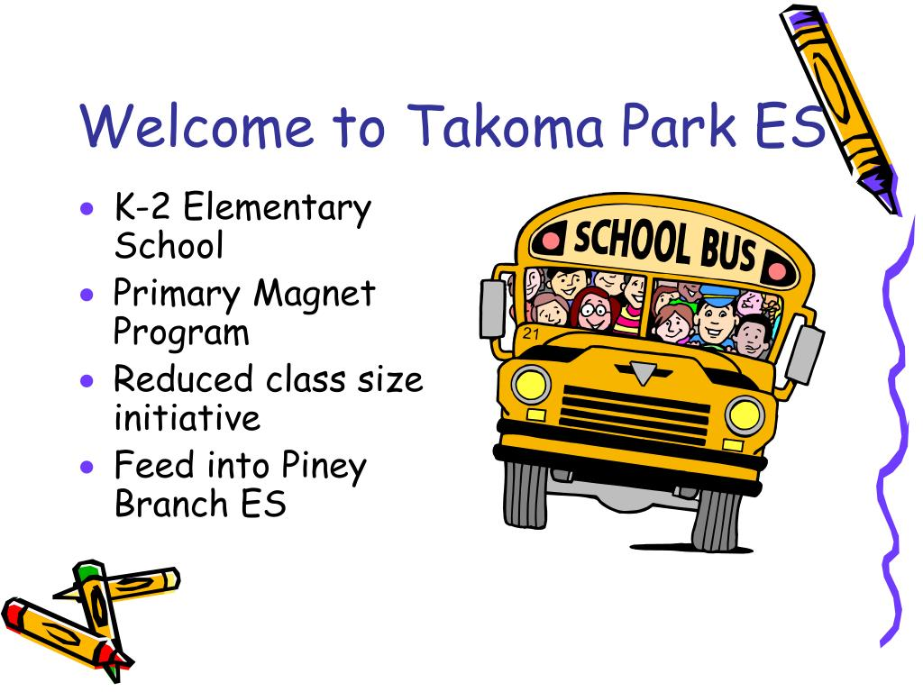 Welcome to Takoma Park ES