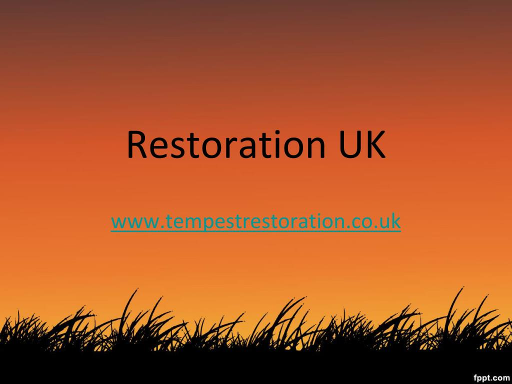 restoration uk www tempestrestoration co uk l.