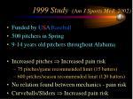 1999 study am j sports med 2002