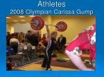 athletes 2008 olympian carissa gump