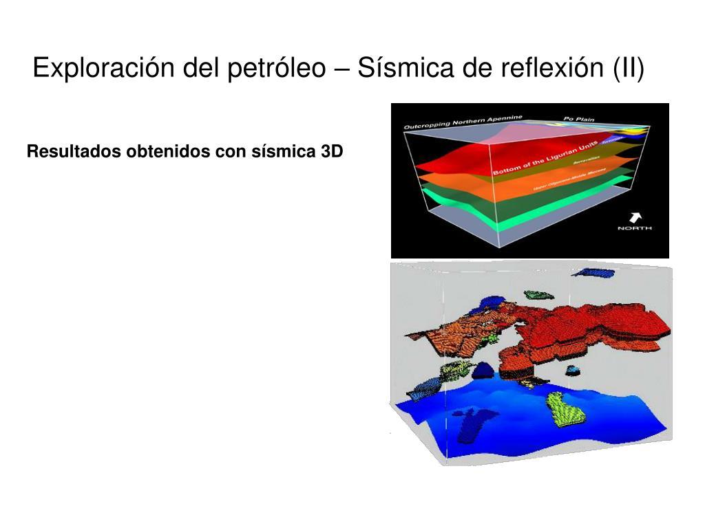 Exploración del petróleo – Sísmica de reflexión (II)