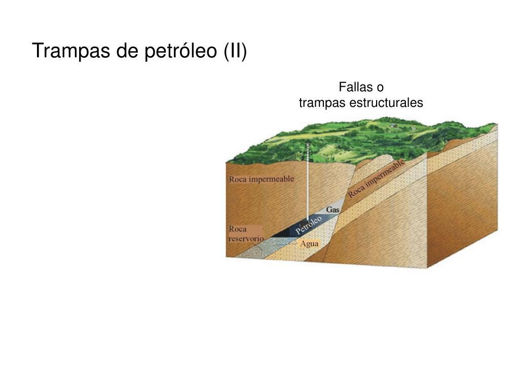 Trampas de petróleo (II)