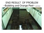 end result of problem bubbling and orange peel repaired
