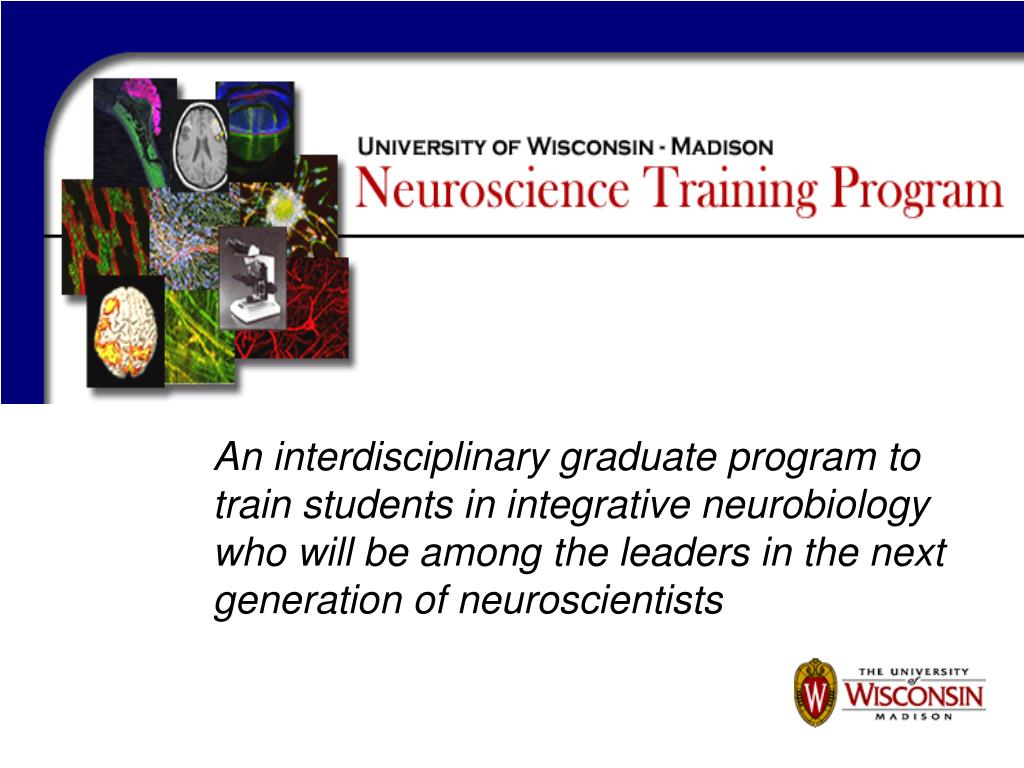 An interdisciplinary graduate program to train students in integrative neurobiology who will be among the leaders in the next generation of neuroscientists