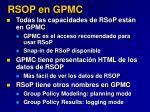 rsop en gpmc
