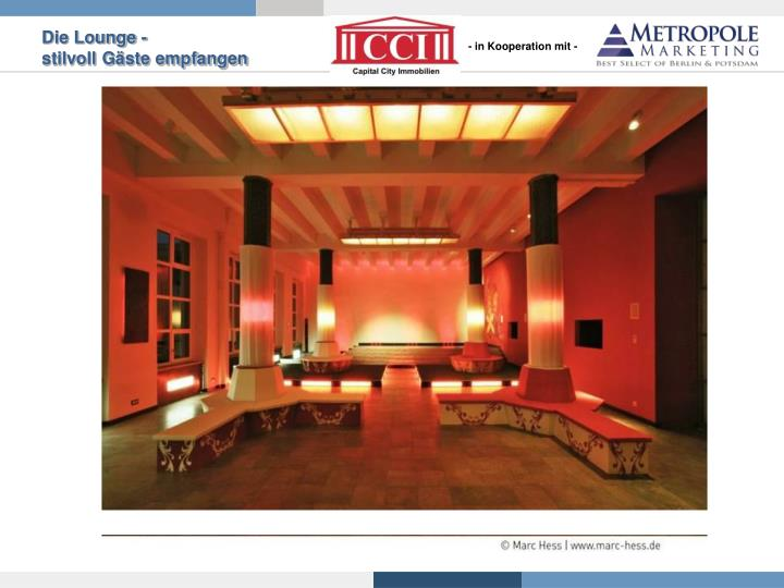 Die Lounge -
