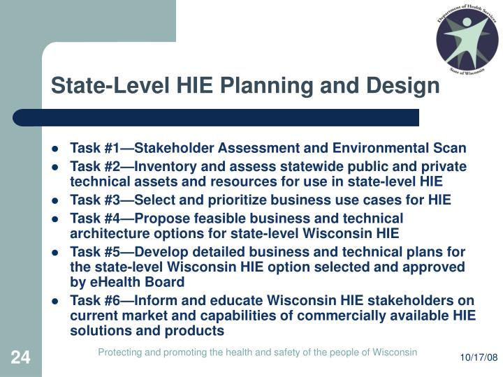 State-Level HIE Planning and Design