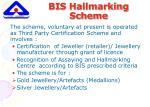 bis hallmarking scheme