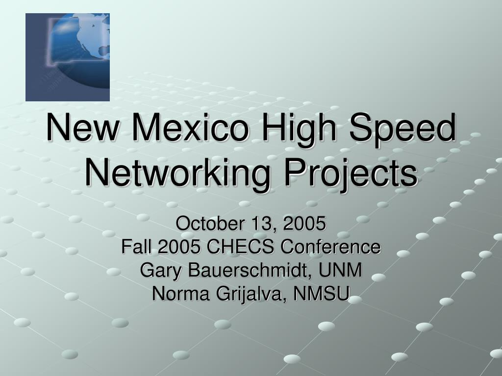 new mexico high speed networking projects