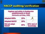 haccp auditing verification23