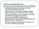 2010 accomplishments program service administration cmhsp13