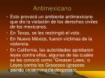 antimexicano