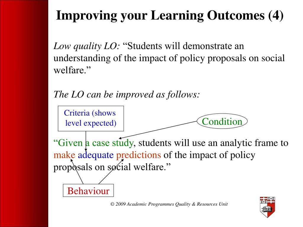 Improving your Learning Outcomes (4)