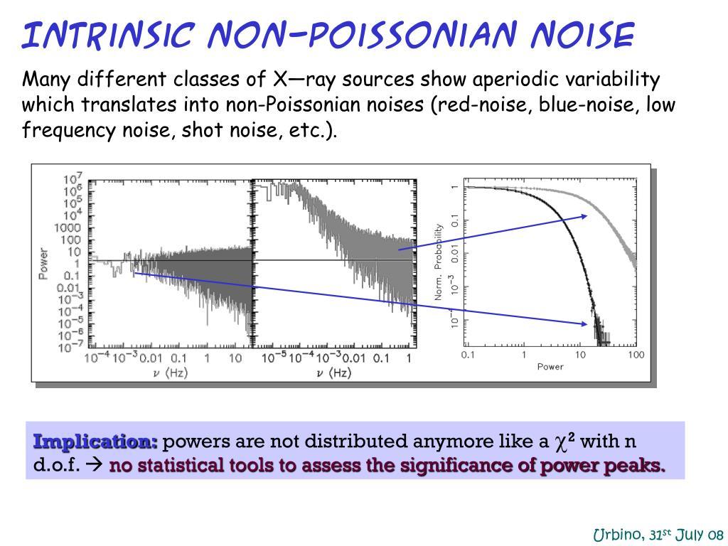 Intrinsic non-Poissonian noise